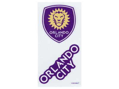 Orlando City SC 2-pack 4x4 Die Cut Decal