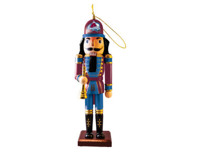 Colorado Avalanche Nutcracker Ornament 2015