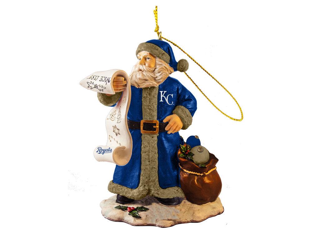 Kansas City Royals Nice List Santa Ornament | lids.com