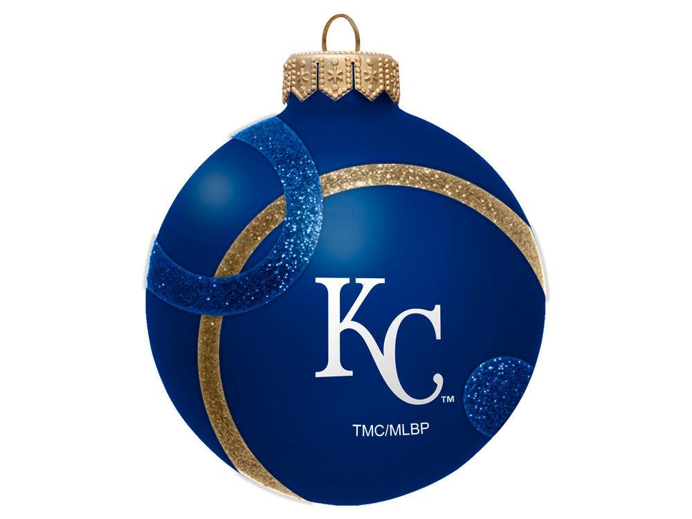 Kansas City Royals 3inch Traditional Ball Circle Pattern Ornament ...