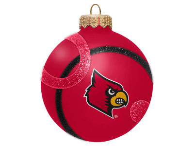 Louisville Cardinals 3inch Traditional Ball Circle Pattern Ornament