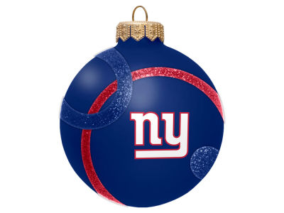 New York Giants 3inch Traditional Ball Circle Pattern Ornament