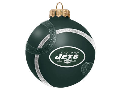 New York Jets 3inch Traditional Ball Circle Pattern Ornament