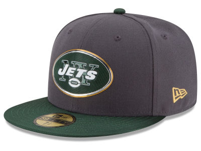 New York Jets New Era NFL Youth Gold Collection On Field 59FIFTY Cap