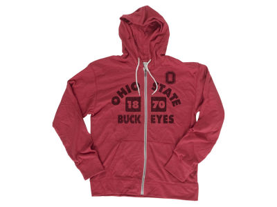 Ohio State Buckeyes NCAA Men's Vintage Full Zip Hoodie