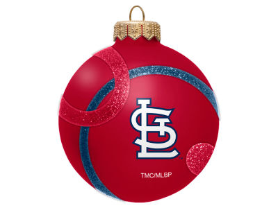 St. Louis Cardinals 3inch Traditional Ball Circle Pattern Ornament