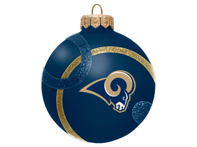 St. Louis Rams 3inch Traditional Ball Circle Pattern Ornament