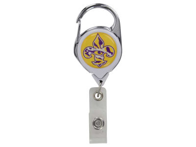 LSU Tigers Premium Retractable Badge Holder