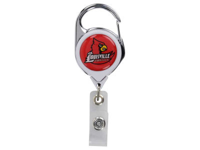 Louisville Cardinals Premium Retractable Badge Holder