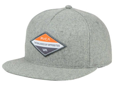 RVCA Difference Snapback Hat