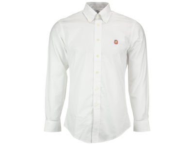 Ohio State Buckeyes NCAA Men's Brooks Bros Solid Sport Button Up Shirt