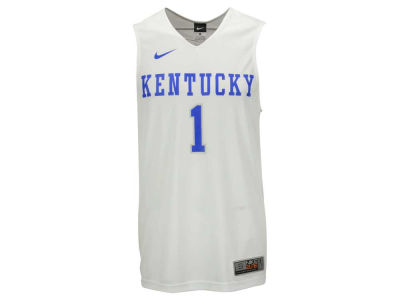 Kentucky Wildcats Nike NCAA Men's Replica Home Basketball Jersey