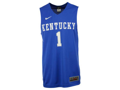 Kentucky Wildcats Nike NCAA Replica Road Basketball Jersey