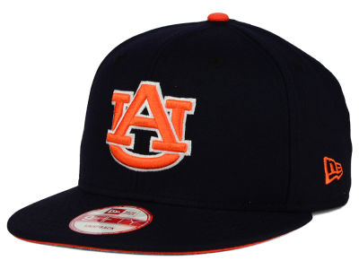 Auburn Tigers New Era NCAA Core 9FIFTY Snapback Cap