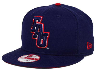 Florida Atlantic Owls New Era NCAA Core 9FIFTY Snapback Cap