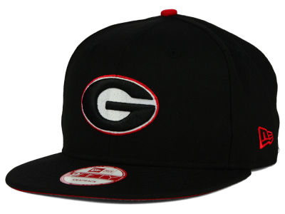 Georgia Bulldogs New Era NCAA Core 9FIFTY Snapback Cap