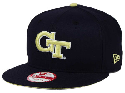 Georgia-Tech New Era NCAA Core 9FIFTY Snapback Cap