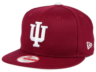 Indiana Hoosiers New Era NCAA Core 9FIFTY Snapback Cap