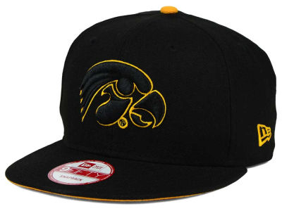 Iowa Hawkeyes New Era NCAA Core 9FIFTY Snapback Cap