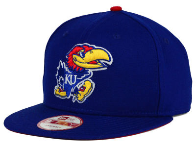 Kansas Jayhawks New Era NCAA Core 9FIFTY Snapback Cap