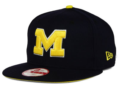 Michigan Wolverines New Era NCAA Core 9FIFTY Snapback Cap 3ef3c2e511bb