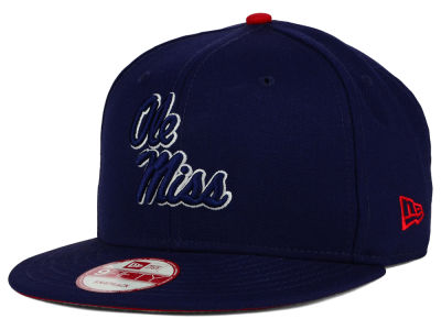 Ole Miss Rebels New Era NCAA Core 9FIFTY Snapback Cap