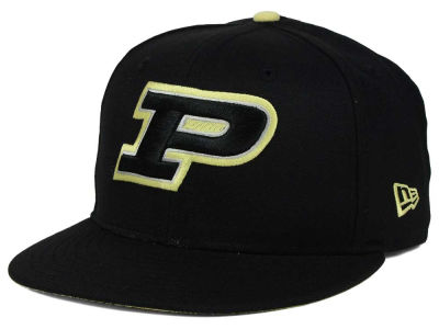 Purdue Boilermakers New Era NCAA Core 9FIFTY Snapback Cap