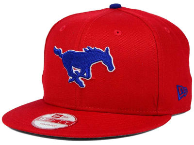 Southern Methodist Mustangs New Era NCAA Core 9FIFTY Snapback Cap