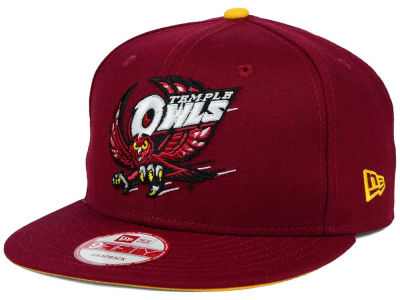 Temple Owls New Era NCAA Core 9FIFTY Snapback Cap