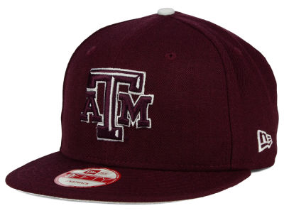 Texas A&M Aggies New Era NCAA Core 9FIFTY Snapback Cap