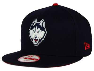 Connecticut Huskies New Era NCAA Core 9FIFTY Snapback Cap