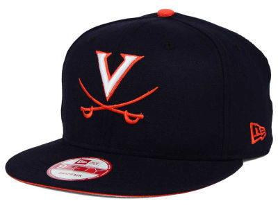 Virginia Cavaliers New Era NCAA Core 9FIFTY Snapback Cap