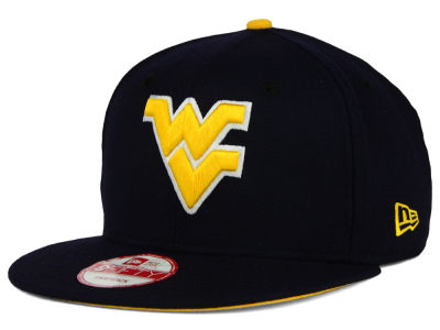 West Virginia Mountaineers New Era NCAA Core 9FIFTY Snapback Cap