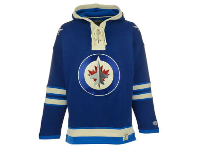 Winnipeg Jets NHL Men's Home Lacer Hoodie