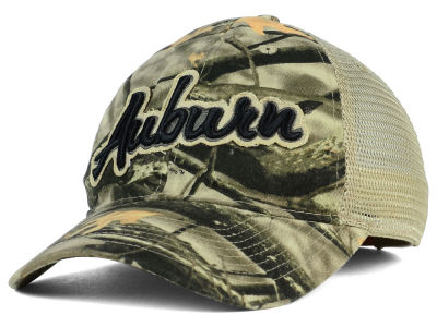 Auburn Tigers NCAA Lost Camo Script Trucker Hat