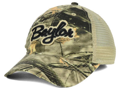 Baylor Bears NCAA Lost Camo Script Trucker Hat