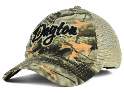 Dayton Flyers NCAA Lost Camo Script Trucker Hat