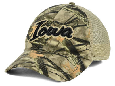 Iowa Hawkeyes NCAA Lost Camo Script Trucker Hat