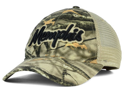 Memphis Tigers NCAA Lost Camo Script Trucker Hat