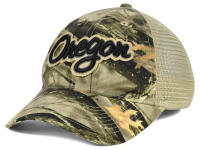 Oregon Ducks NCAA Lost Camo Script Trucker Hat