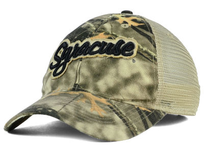Syracuse Orange NCAA Lost Camo Script Trucker Hat