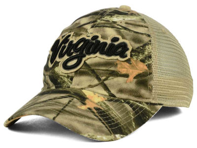Virginia Cavaliers NCAA Lost Camo Script Trucker Hat