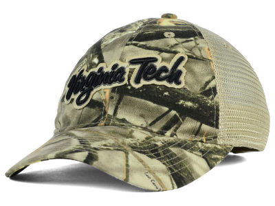 Virginia Tech Hokies NCAA Lost Camo Script Trucker Hat