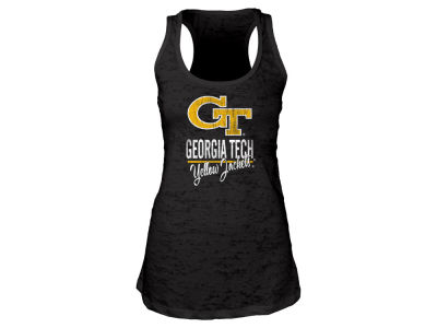 Georgia-Tech Blue 84 NCAA Women's Racerback Burnout Tank