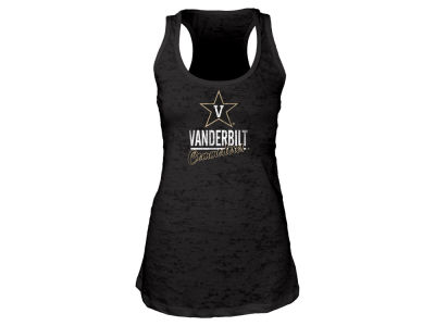 Vanderbilt Commodores Blue 84 NCAA Women's Racerback Burnout Tank