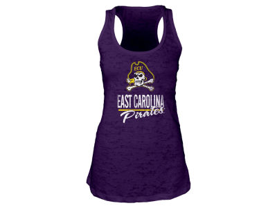 East Carolina Pirates Blue 84 NCAA Women's Racerback Burnout Tank