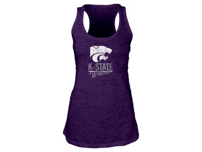 Kansas State Wildcats Blue 84 NCAA Women's Racerback Burnout Tank