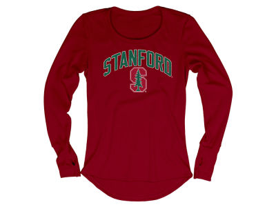 Stanford Cardinal Blue 84 NCAA Women's Long Sleeve Thermal T-Shirt