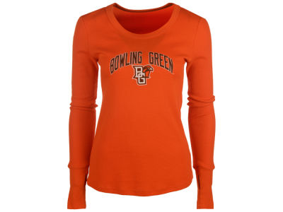 Bowling Green Falcons Blue 84 NCAA Women's Long Sleeve Thermal T-Shirt