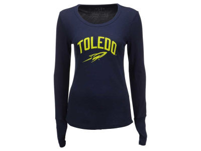 Toledo Rockets Blue 84 NCAA Women's Long Sleeve Thermal T-Shirt